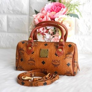 💖MCM Mini Boston Speedy Bag